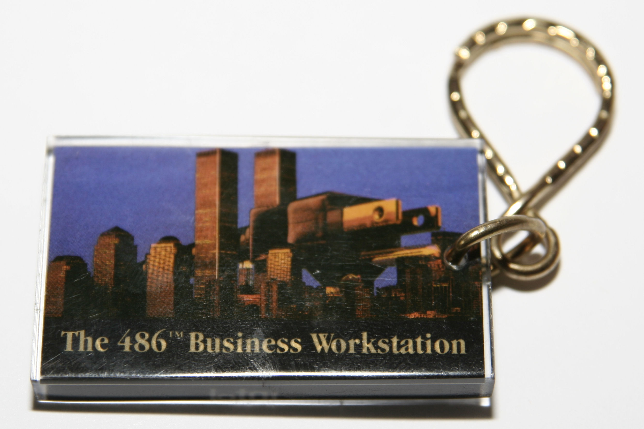 486 Microprocessor Keychain (Front)