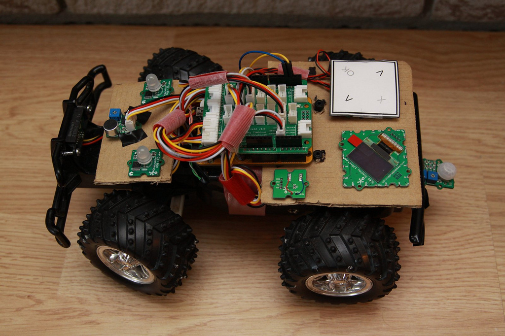 gRover Robotics Platform