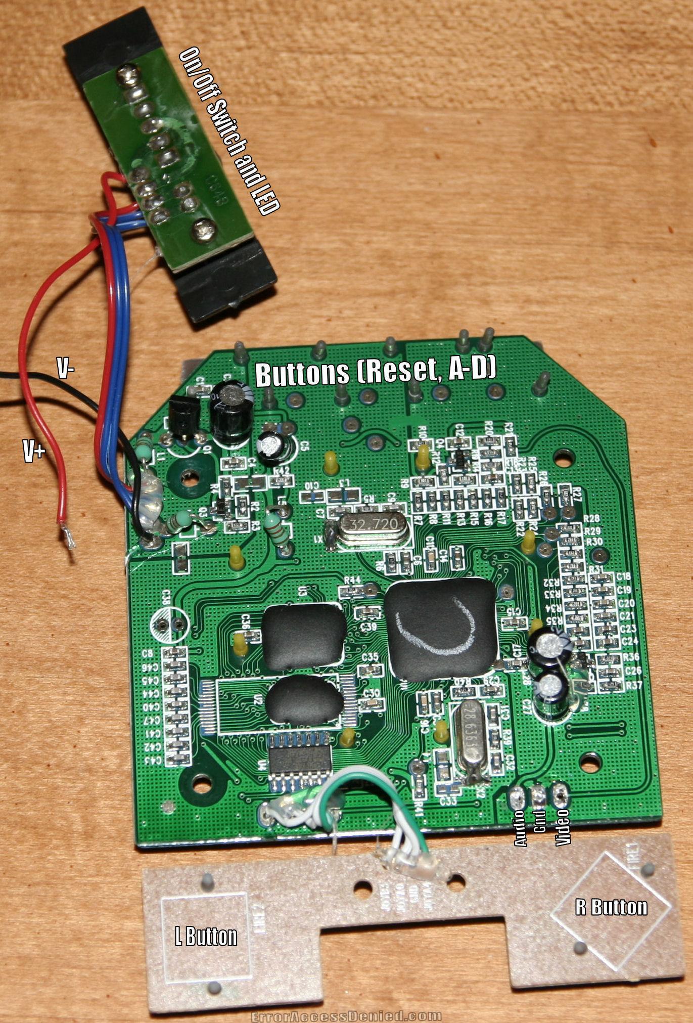 C64 DTV Guts