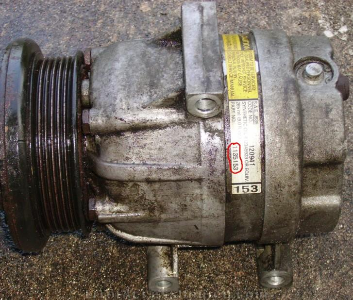 How to: Replace an AC Compressor from a GM 3100 engine