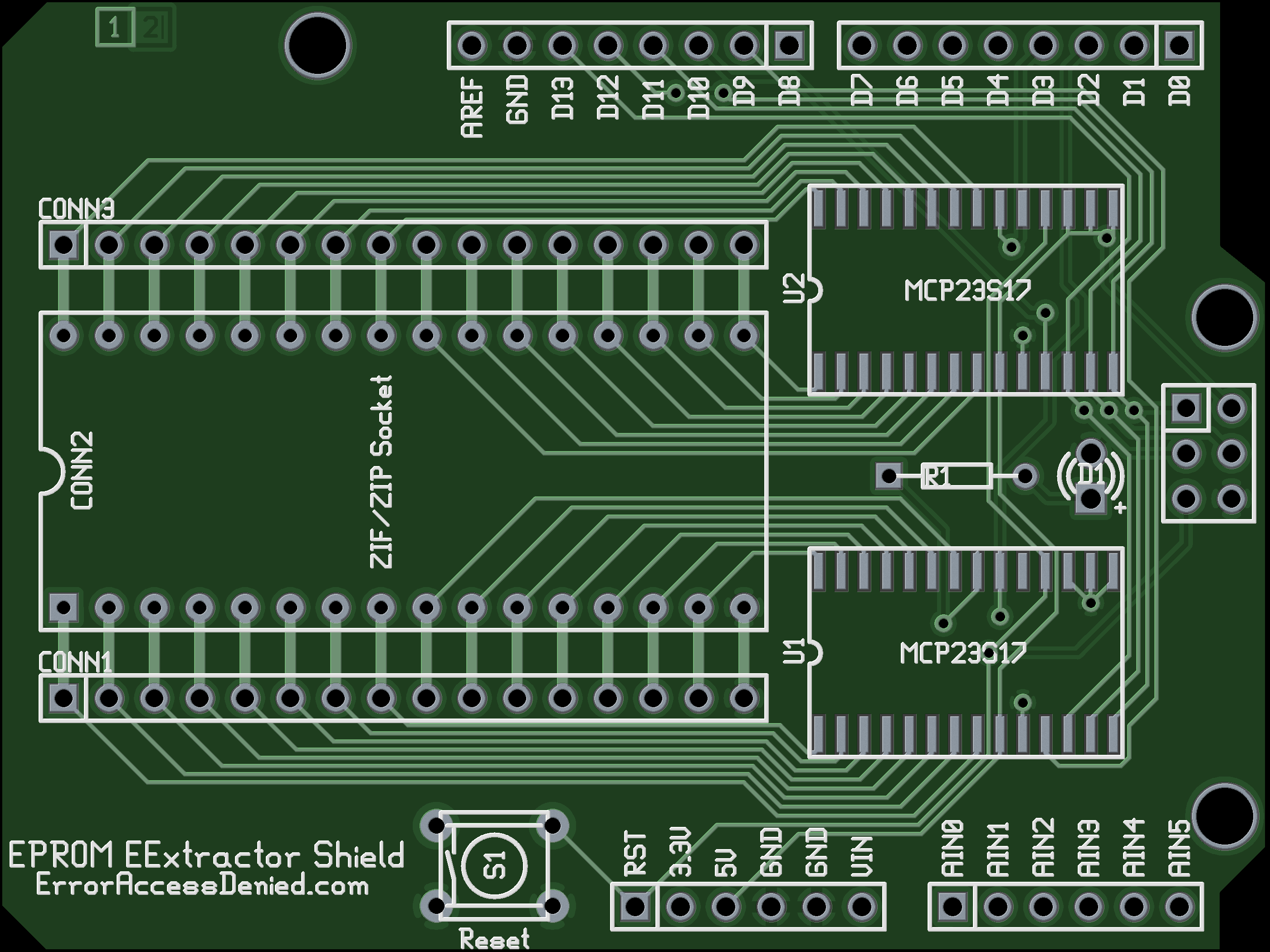 EExtractor: An (EE)PROM-Extracting Arduino Shield (Beta)