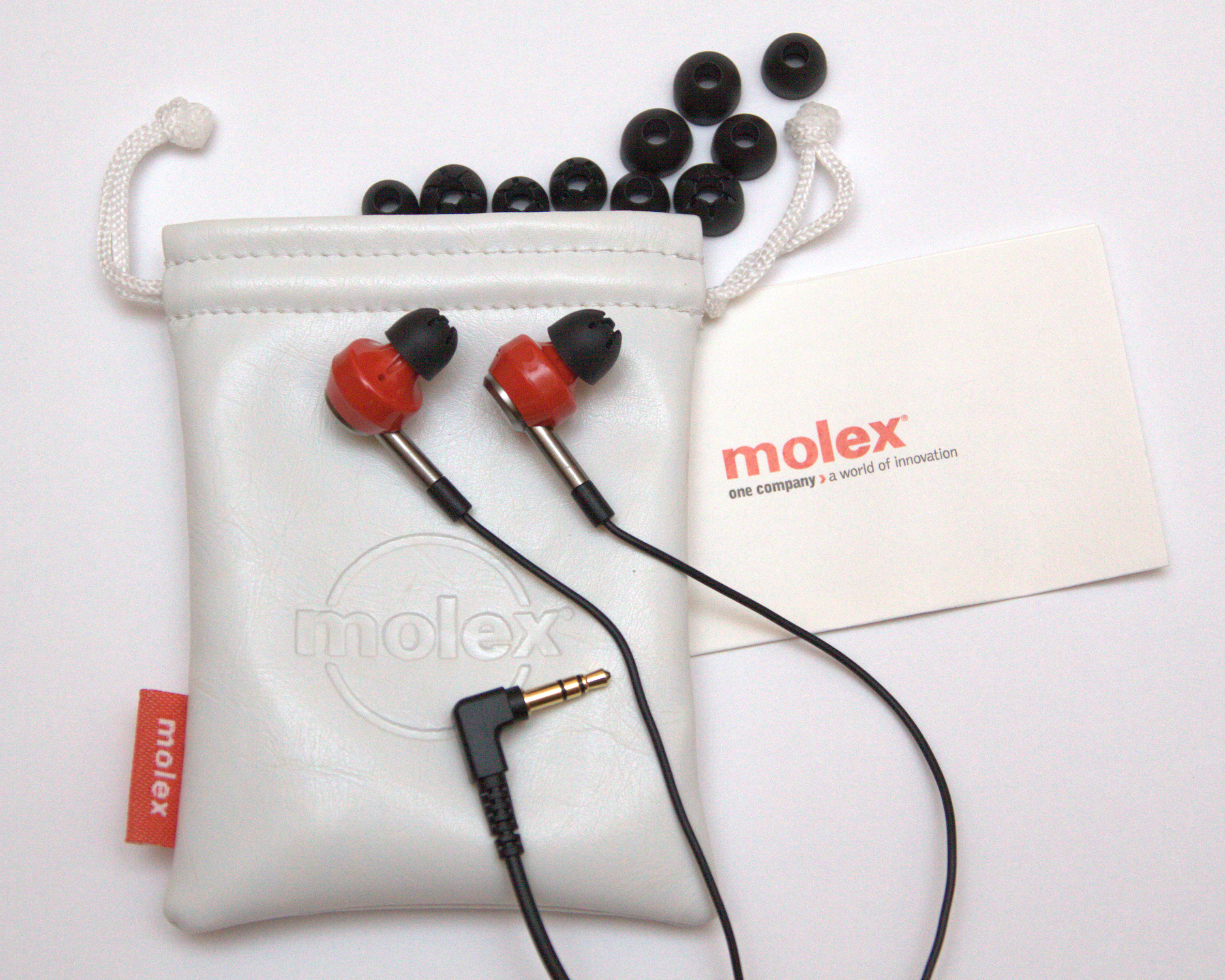 Molex Evaldi Earphones (Review)