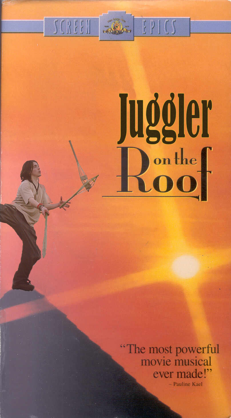 Fark.com Photoshop: Juggler On The Roof