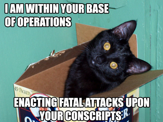 I am within your Base of Operations...