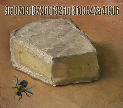 Fark.com Photoshop: Some brie, a key, and a bee