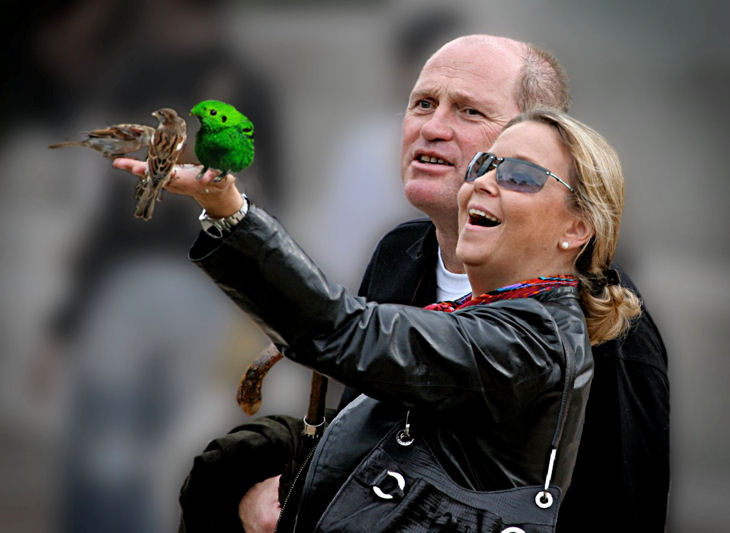 Fark.com Photoshop: Bird Enchanter