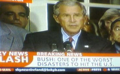 Bush: One of the worst natural disasters to hit the U.S.
