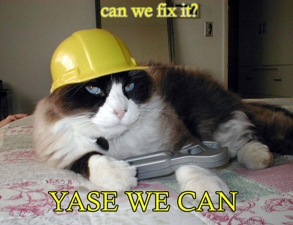 Can we fix it? Yase we can!