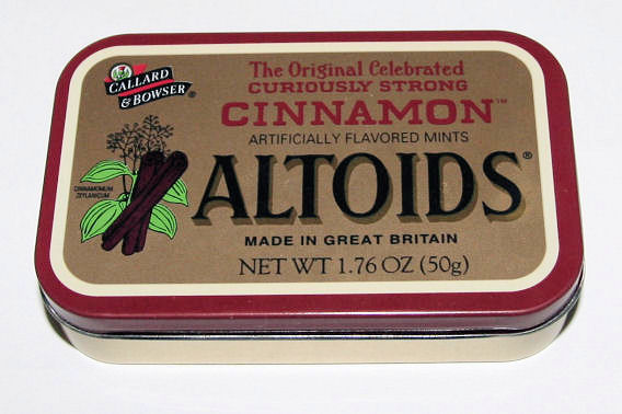 Altoids Project Tin