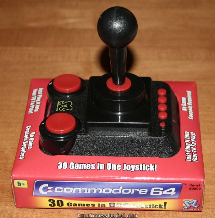 C64 Direct-to-TV Joystick