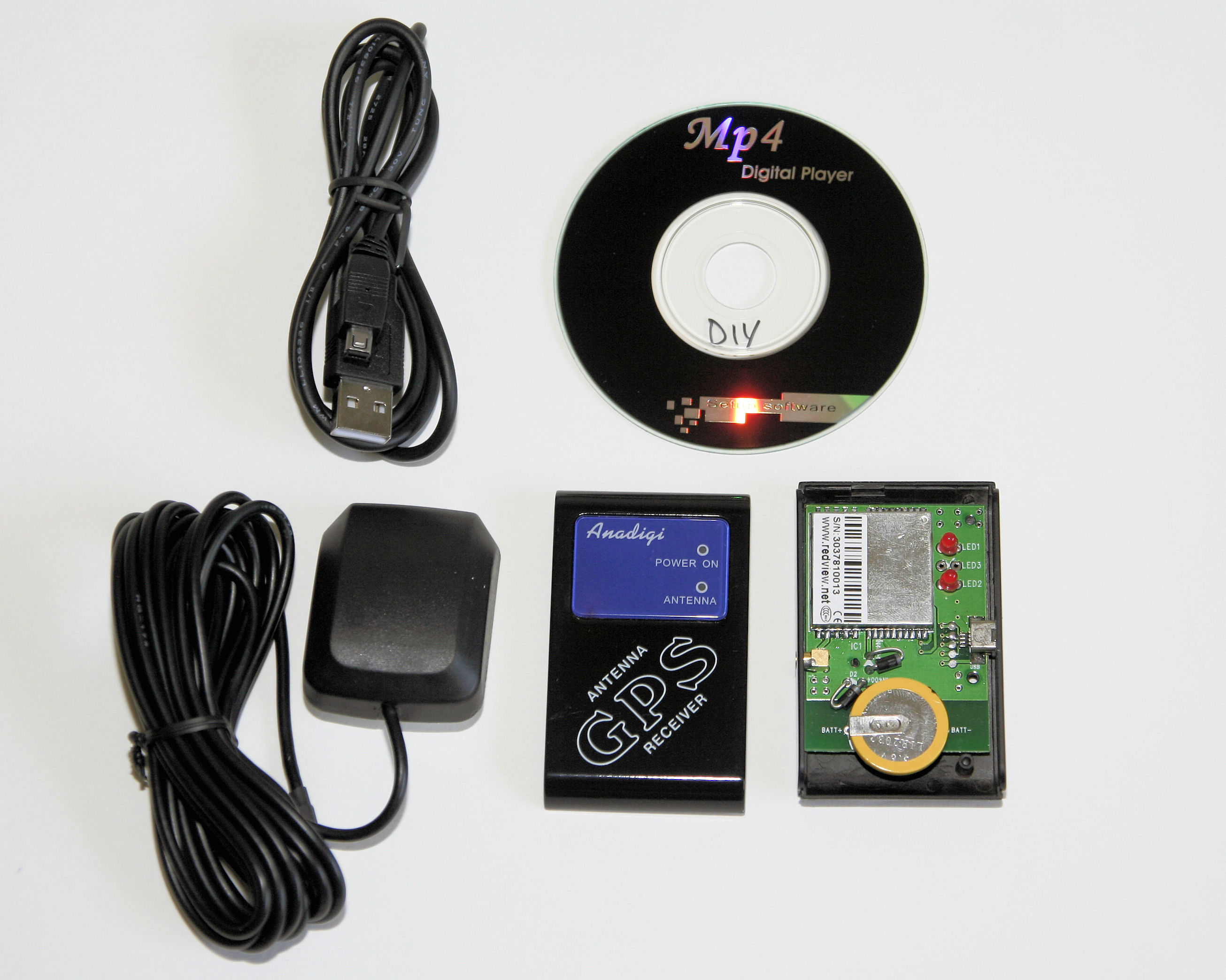Anadigi GPS-R02 DIY GPS Kit