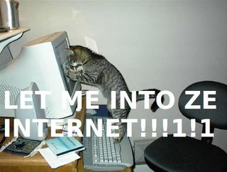 Let me into ze Internet!!!1!1