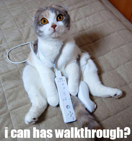 i can has walkthrough?