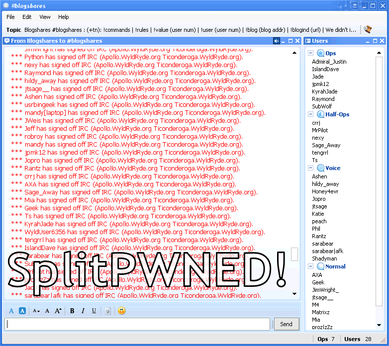 SplitPWNED!