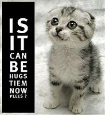 Is it can be hugs time now please?