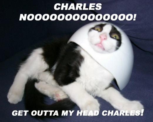 Charles, noooo! Get outta my head, Charles!